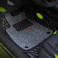 New car floor mats rugs set for AUDI A4L 2017 2018 custom car floor mats