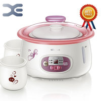 1 Pot 3 Liner High Quality Electric Cookers Slow Cooker 220V Mini Casserole Crockpots Cooker