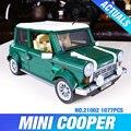 Лепин 21002 техника серии Cooper Модель Строительные Наборы Блоков Кирпичи Игрушки Совместим С 10242