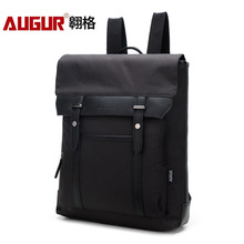 Men's Backpack Nylon Slim Waterproof Bag for Male Mochila 14.1 Inch Laptop Notebook Bag for Computer Lightweight Laptop Backpack