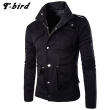 T-bird Jacket Men Winter 2017 Coat Male Bomber Jacket Men Slim Large Size Brand Outwear Mens Cotton Jackets Clothing 4XL ZKXSAXK