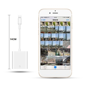 Image 5 - Combo SD Card Reader Digital Camera Kit 256G Support OTG Adapter Cable For iPhone iOS 9.2 Newest iPad Android Device Neednt APP