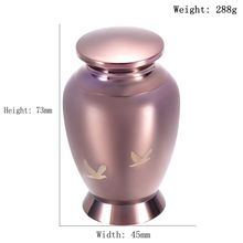 Coffee Gold Bird Cremation Urn for Human Ashes Small Adult/ Pet Funeral Casket Keepsake Urns Stainless Steel Jewellery Keepsake