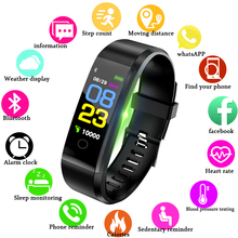 LIGE Sport Smart Bracelet Men Women Digital LED Smart Watch Waterproof Blood Pressure Heart Rate Pedometer For Android IOS+Box