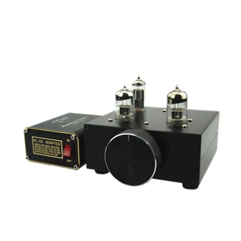 Préamplificateur de tube MINI 14 w DC12V 2A HIFI 6N3 préamplificateur amplificateur de Tube Audio avec alimentation