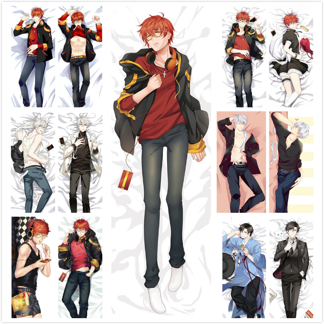 South Korea Game Mystic Messenger 707 Luciel Choi Hugging Body Pillow Cover Case Male Decorative Dakimakura Pillow covers New