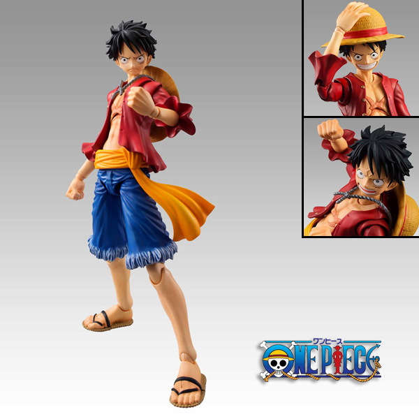 One Piece Luffy MegaHouse Variable Anime Collectible Action Figures PVC Collection toys for christmas gift with Rerail box classic anime 25cm cp9 rob lucci one piece anime collectible action figures pvc collection toys men kids christmas gift