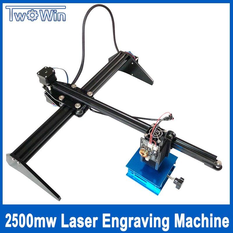 2500 mw/5500 mw Routeur De commande numérique par ordinateur De Bureau USB Laser Graveur Laser Cutter Automatique Ordinateur BRICOLAGE Laser Machine de Gravure Meilleur cadeaux Jouets
