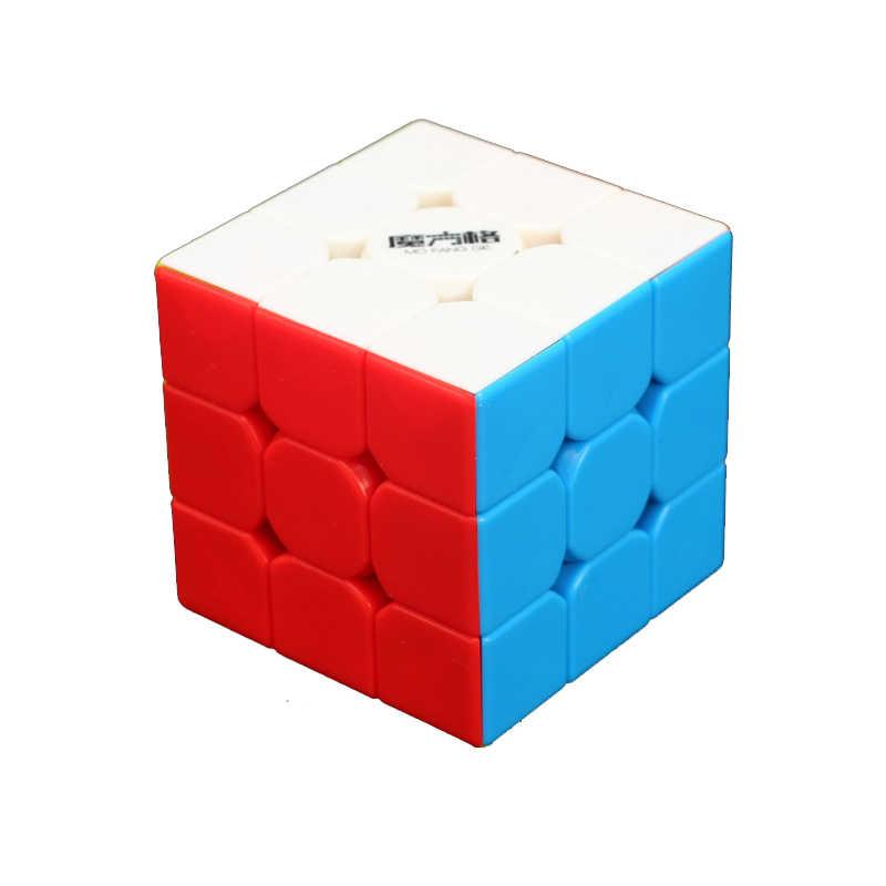 Qiyi mofangge 3x3x3 سرعة يتينج المجوس مكعب المهنية التعليمية تعلم لعب للأطفال لغز سرعة مكعب مع pp حالة كوف