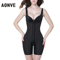 AONVE Bodysuit Women Shaper Waist Tainer Latex Modeling Strap Corsets Straps Slimming and Waist Belly Slimming Sheath Shape Butt