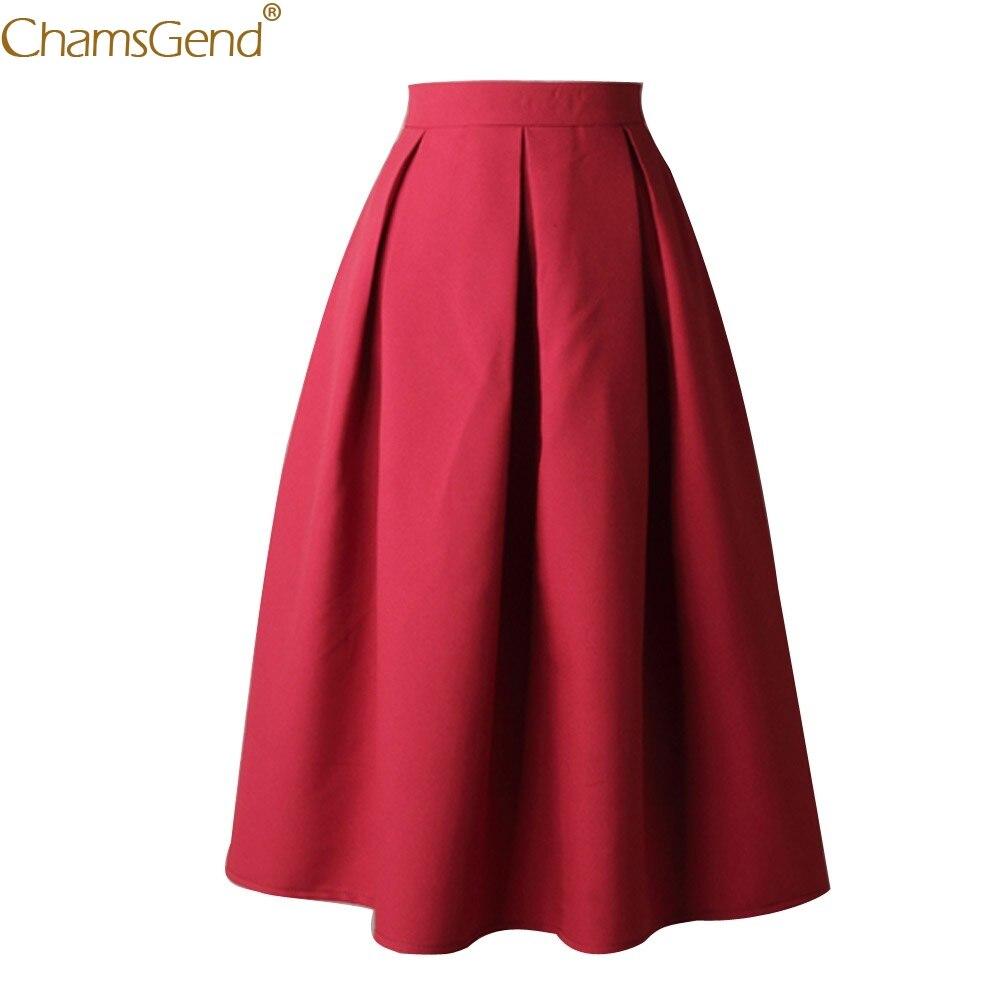 High Waist Flared Skirt Bow Solid summer skirts womens long skirts for women Autumn Brief Ball Gown womens with design Mar14