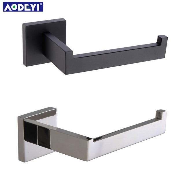 black bathroom accessories.  Black Matte Black Toilet Paper Holder Wall Mount Tissue Roll Hanger 304 Stainless  Steel Bathroom Accessories On