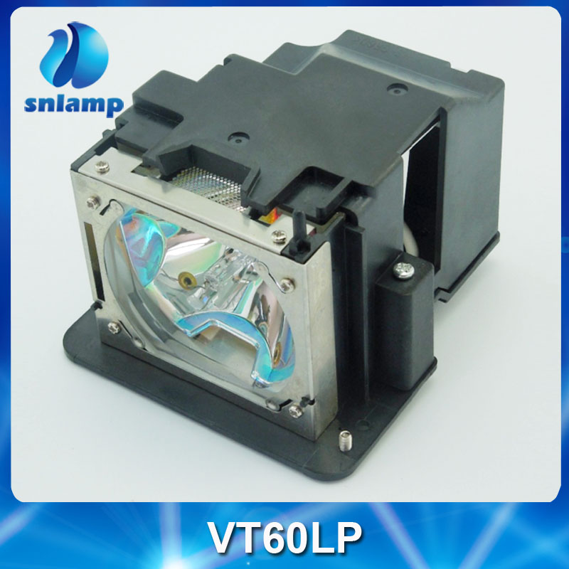 Compatible VT60LP projector lamp with housing for VT46 VT460 VT460K VT465 VT475 VT560 VT660 VT660K free shipping original projector lamp vt60lp for nec vt46 vt46ru vt460 vt460k vt465 vt475 vt560 vt660 vt660k