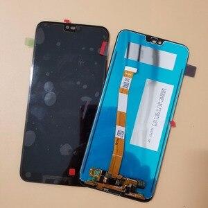 Image 3 - Mit Rahmen Für Huawei Honor 10 COL L29 LCD Display Touchscreen Digitizer Montage Ersatz Mit Fingerprint