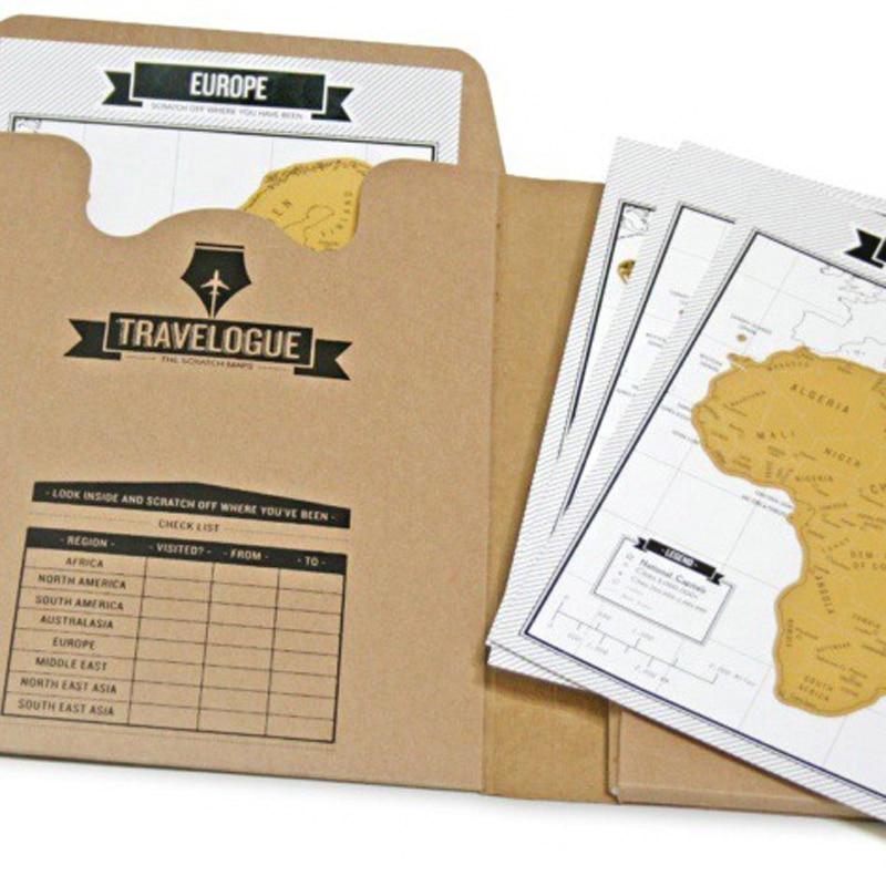 popular travelogue notebooks and scratch off map travel log tourist journal