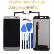 """Zte ブレードため A610 プラス lcd ディスプレイとタッチスクリーン 5.5 """"携帯電話アクセサリーの交換 zte ブレード A2 プラス液晶 + ツール"""