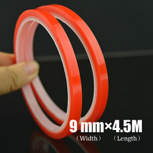 Hot Sale 9mm*4.5m high Temperature self adhesive Acrylic tape for LCD or small gadgets repair