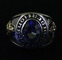 Серебряные кольца золото христианский крест с Иисусом кольцо хвост кольцо