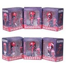 Naughty Deadpool Action Figures 3pcs/lot