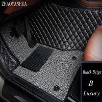 ZHAOYANHUA автомобильные коврики для Mercedes Benz A B C E класса W211 W212 W204 W205 W176 W169 W245 W246 5D любую погоду автомобиль Стайлинг ковер