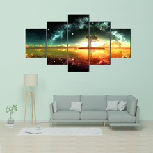 Wall Art HD Prints Home Decor 5 Pieces Canvas Painting Abstract Pictures Creative Artwork Poster Free shipping Abooly