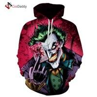 Stephen King's It Cosplay Costume Joker Anime Coat Sweater Jack Napier CosDaddy