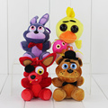 Hot Sale Five Nights At Freddy FNAF Fox Bear Bonnie Toys Plush Pendants Keychains Dolls