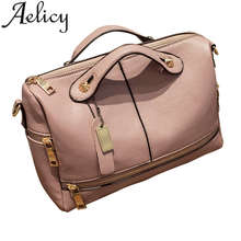 Aelicy PU Leather Women Bag Female Handbag Women Leather Handbags Female Crossbody Bags Small Size Messenger Bag Ladies Tote