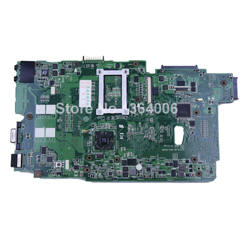 For Asus K70AB K51AB REV:2.1 motherboard mainboard SOCKET S1 main board with 2007 cpu work perfect and free shipping