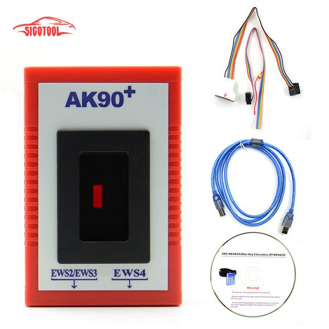 Factory Price! Newest Version V3.19 AK90 Key Programing Tool AK90+ For  BMW AK90 Key Programmer AK-90