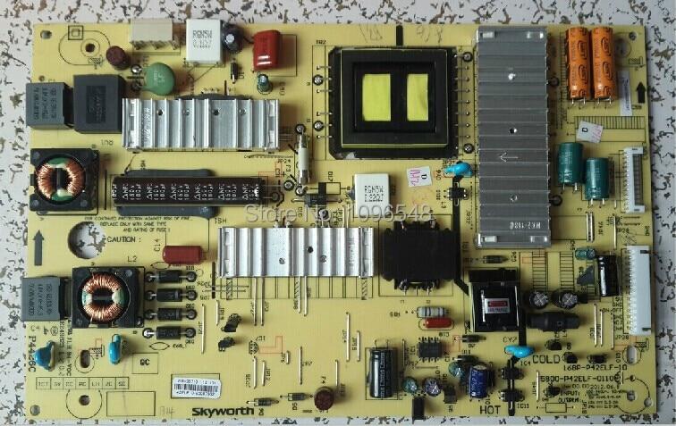Free Shipping>Original 42E500E 47 power supply board 5800-P42ELF-0100 168P-P42ELF-10 original 32s12hr 32k03hr 32l05hr power supply board 168p p32alk 00 10