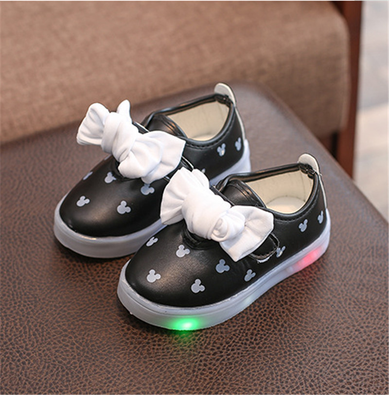 kids girls shoes with light (18)