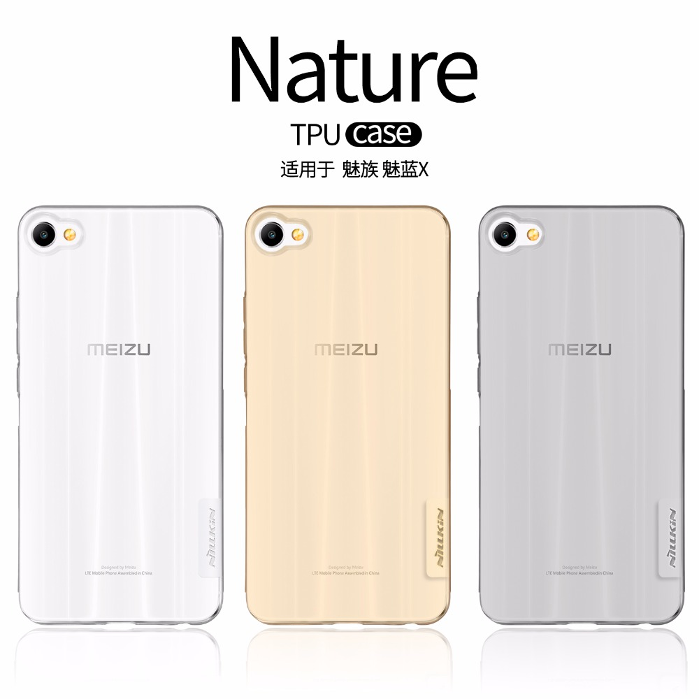Nillkin ultra thin soft case for Meizu M3X protective case for Meizu M3X cover Nature TPU translucent cases shell