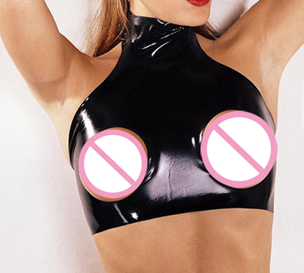 Latex breast bra