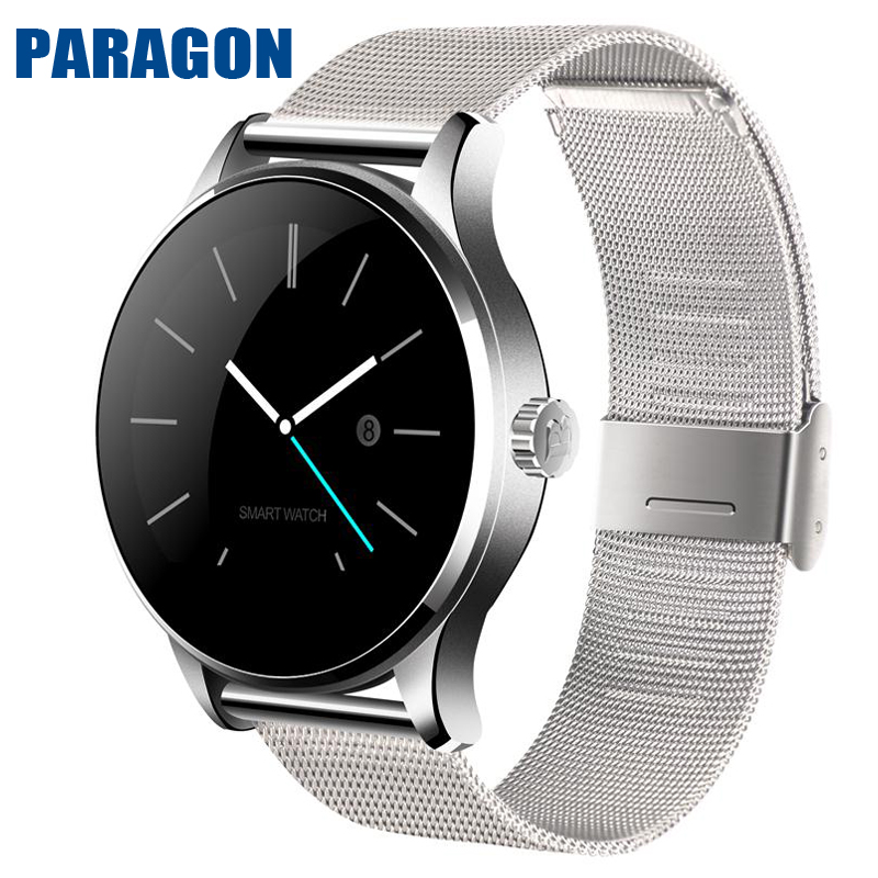 PARAGON Smartwatch K88H Heart rate monitor Wristband Russian Hebrew Korean for x