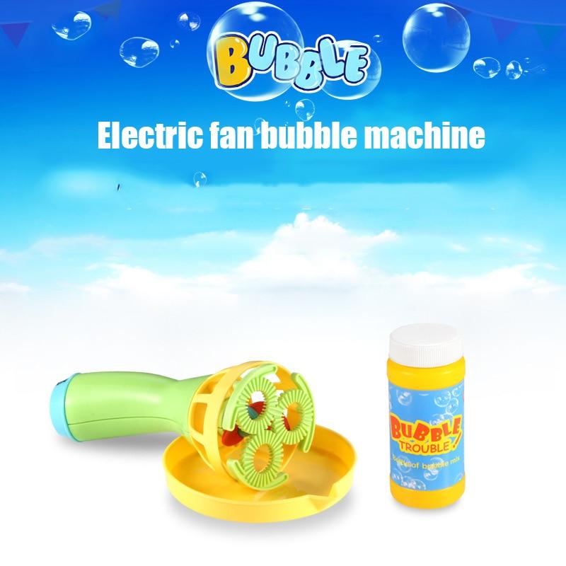 Eva2king Hot Bubble Fan Machine Summer Outdoor Games Funny