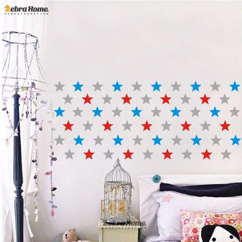 HTB1zzHTKVXXXXbvaXXXq6xXFXXXW - Custom Color Stars Wall Sticker DIY For Kids Rooms