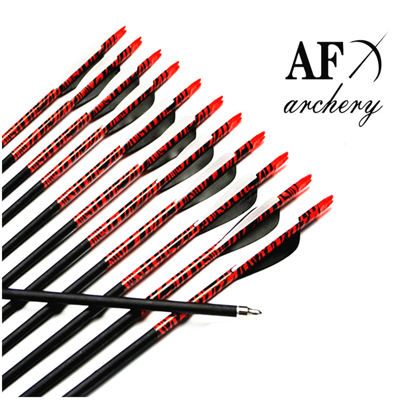 ФОТО AF 12pcs New Carbon Arrows 31