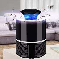 Электроника ловушка для летающих насекомых электрическая УФ лампа ночник Летающая ловушка для насекомых лампа против комаров и вредителей