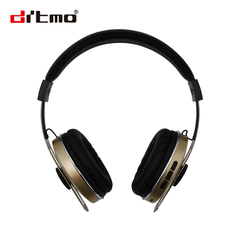 Drtmo Stereo Bluetooth Headphone Wired Wireless 2 Mode Headset For Mobile Computer Music