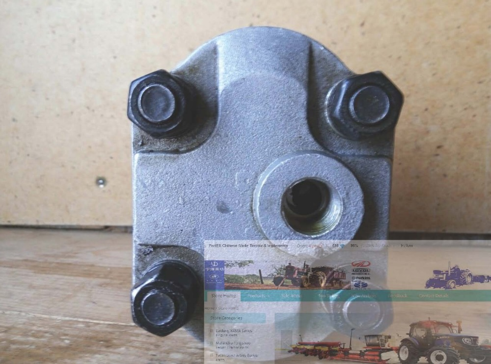 ФОТО  the gear pump, Model: CBN-E314, with flange and splined connection