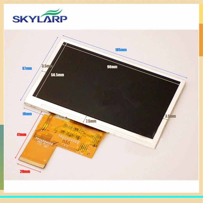 skylarpu 4.3 inch HD TFT LCD Screen for SATLINK WS-6932 WS-6936 WS-6939 WS-6960 WS-6965 WS-6966 WS-6979 Satellite Finder panel 1pc satlink ws 6979 dvb s2