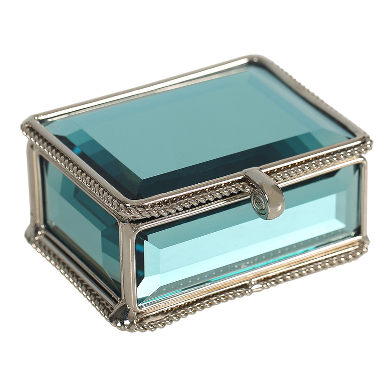 High class glass Storage Boxes jewelry box wedding box