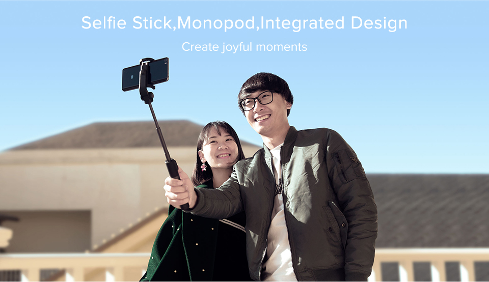 Original Xiaomi Mi selfie stick tripod Bluetooth Wireless Remote Control 360 Degree Rotating Bracket for IOS Android Mobile Phon (3)
