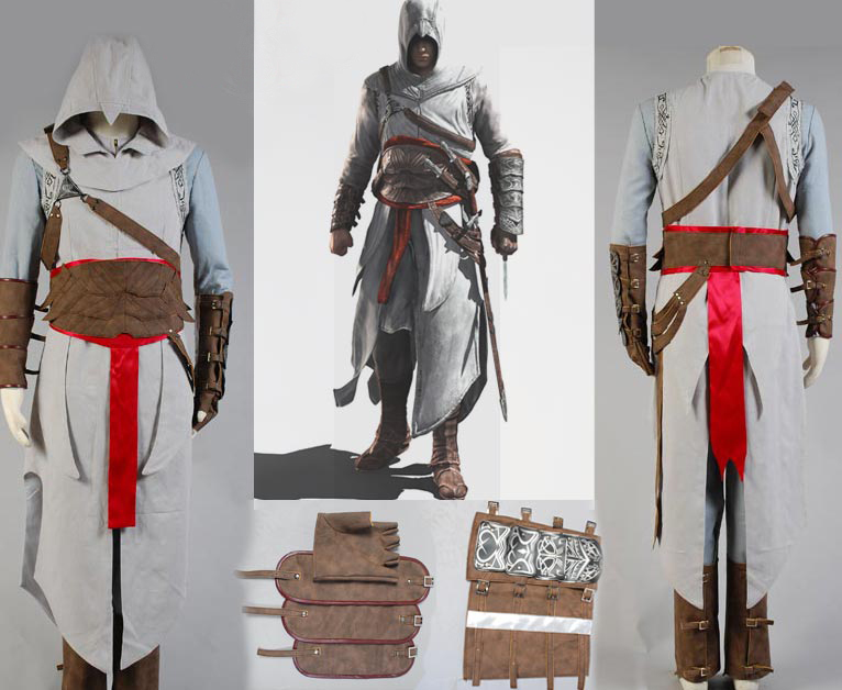 Revelation Altair Cosplay Costume Full Outfit