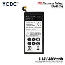 2850mAh New High for Samsung Galaxy S6 G920 G9200 G920f G920i G920A G920P G920V G920S G920T Capacity Smart Phone Battery цена 2017