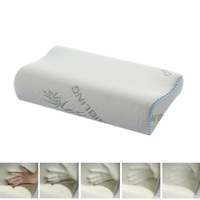1pc High Quality Charcoal Bamboo Fiber Pillow Slow Rebound Memory Foam Pillow Health Care Neck Protective