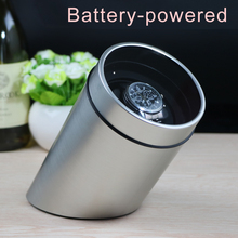 battery powered Single Watch Winder for automatic watches watch box automatic winder storage display case box