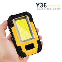 Portable COB LED Emergency Light 30W Super Bright Waterproof Camping Tent Light Rechargeable Outdoor working Flashlight.|Emergency Lights| |  -