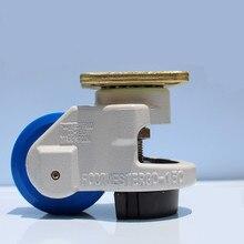 4 PCS Nylon Machine Industrial Casters Wheels GD-150F  for Equipment Castors